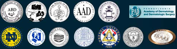 Philadelphia's Top Hair Transplant Surgeon - Associations logos